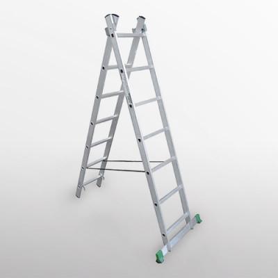 Лестница двухсекционная EKO 2х9, 3,95 м EKO1209