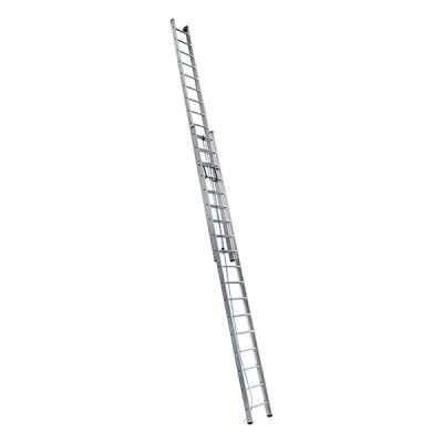 Лестница двухсекционная выдвижная ALUMET 2х14, 6,86 м SR2 3214