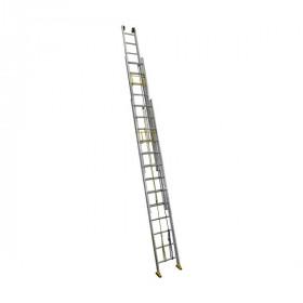 Лестница трехсекционная ALUMET SR 3х10, профессиональная, 6,38 м