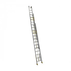 Лестница трехсекционная ALUMET SR 3х24, профессиональная, 18,36 м