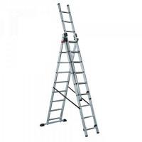 Лестница-стремянка трехсекционная LWI 3х15 (11,12м)
