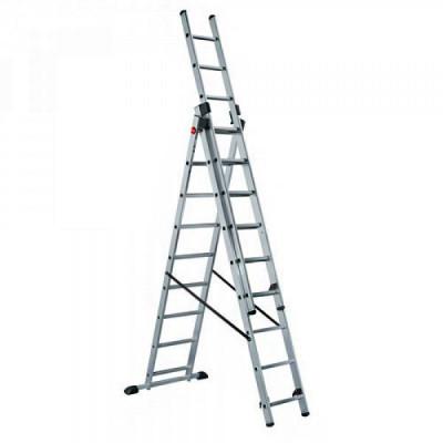 Лестница-стремянка трехсекционная LWI 3х17 (12,83м)