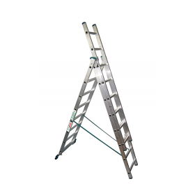 Лестница трехсекционная 3х8 Высота, 4,72 м