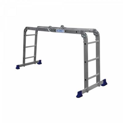 Лестница-трансформер ALUMET TL 4х4, длина 4.66 м ТL4044