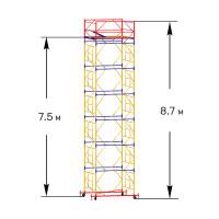 Вышка тура строительная ПРОФИ ВСП-250 1,6х2,0 м - 8,7 м