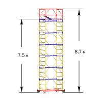 Вышка тура строительная СТАНДАРТ ВСП-250 1,0х2,0 м - 8,7 м