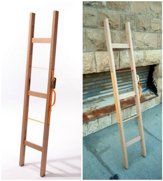 Лестница своими руками из дерева раскладная